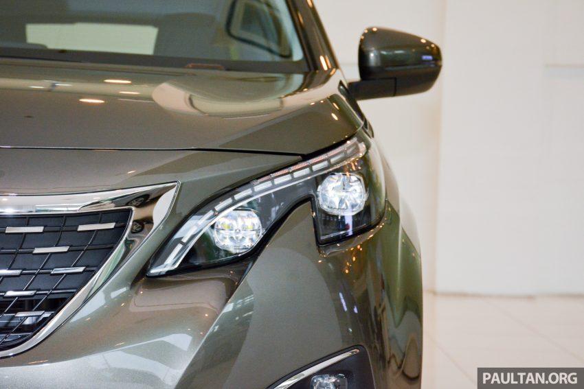 欧洲年度风云车, 2017 Peugeot 3008 亮相展销厅, 1.6升涡轮引擎, 165匹马力, 两个等级可选, 售价从RM 143K起。 Image #38821
