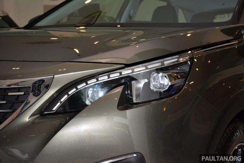 欧洲年度风云车, 2017 Peugeot 3008 亮相展销厅, 1.6升涡轮引擎, 165匹马力, 两个等级可选, 售价从RM 143K起。 Image #38822