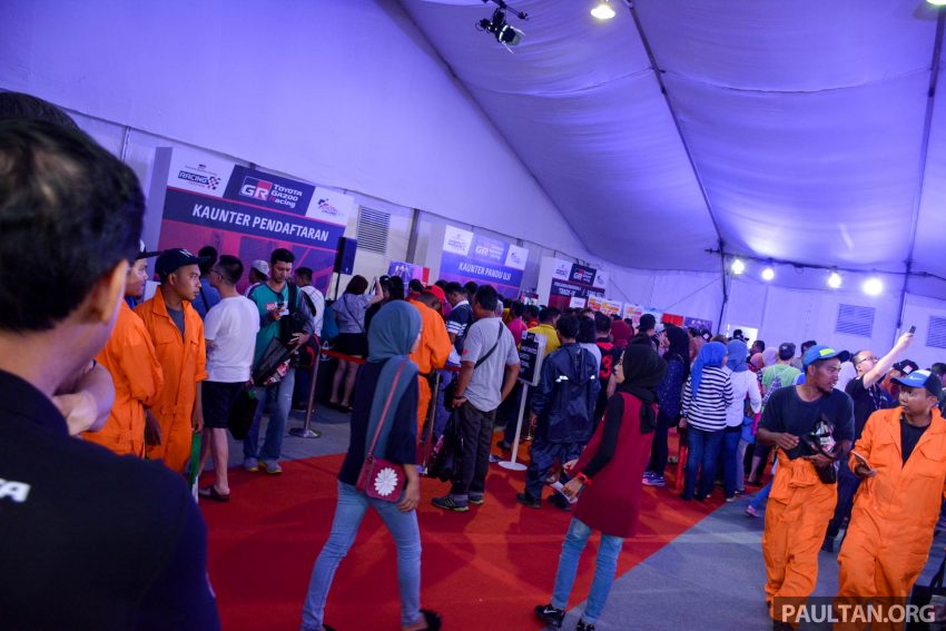 Toyota Gazoo Racing Festival Batu Kawan体育馆引爆! Image #39113