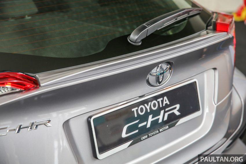 新车图集:Toyota C-HR 新车预览,澳规版本开放参观。 Image #38262