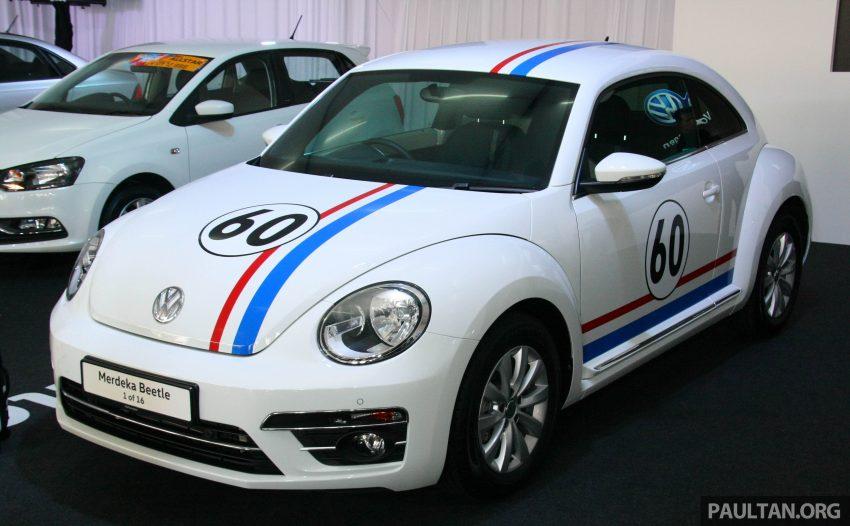 配合国庆推出, Volkswagen Beetle 60th Merdeka Edition! Image #38969