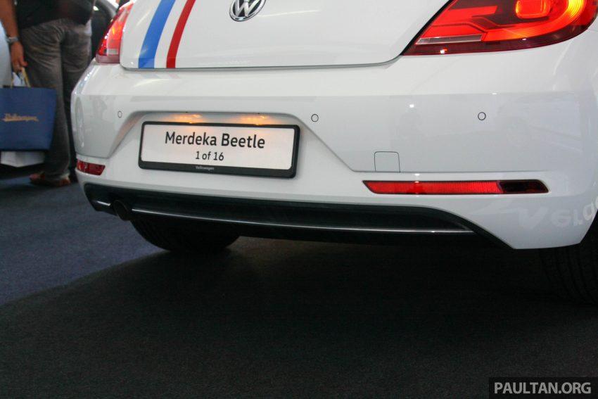 配合国庆推出, Volkswagen Beetle 60th Merdeka Edition! Image #38970