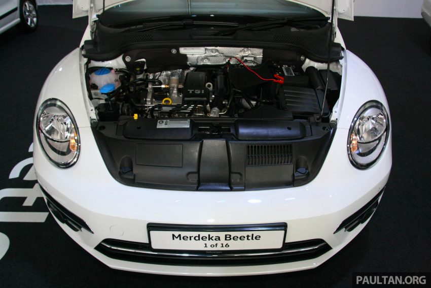 配合国庆推出, Volkswagen Beetle 60th Merdeka Edition! Image #38978