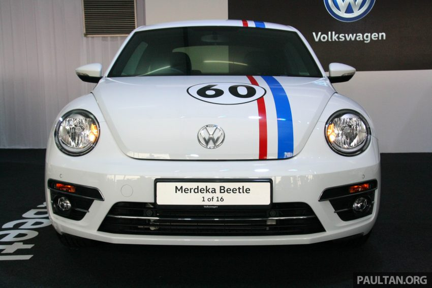 配合国庆推出, Volkswagen Beetle 60th Merdeka Edition! Image #38983