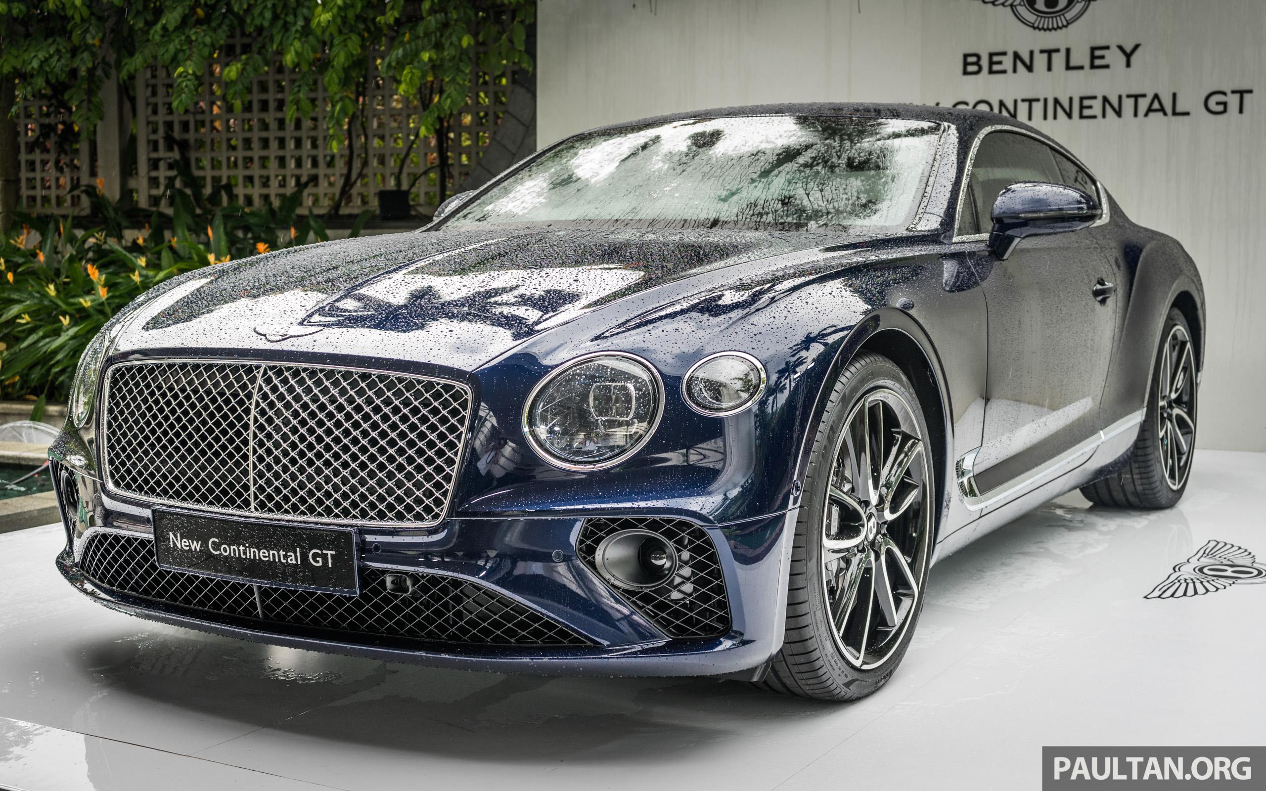 面世才一周,全新 Bentley Continental Gt 新加坡预览。 2018 Bentley