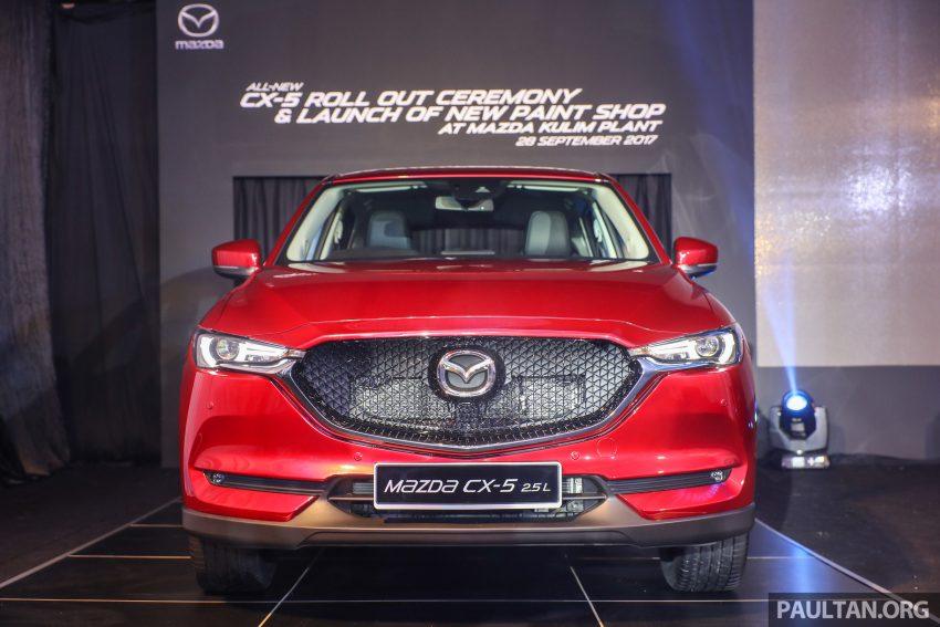 发布在即,2017 Mazda CX-5 新车预览,售价RM134K起! Image #43254