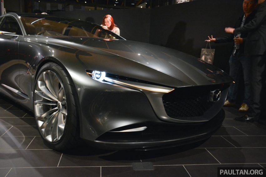 东京车展: Mazda Vision Coupe 正式发布, 魂动未来设计! Image #46183