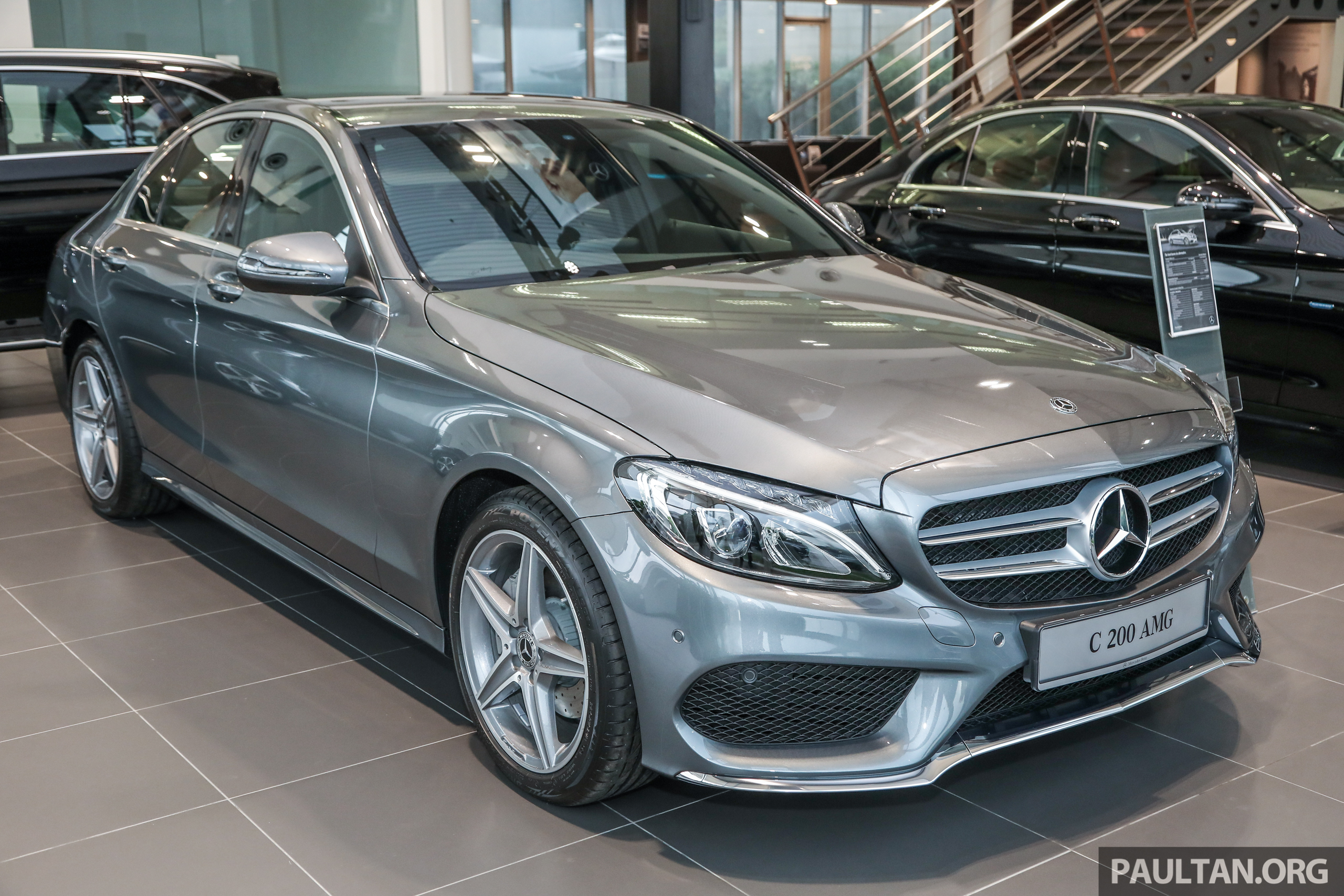 图集:Mercedes-Benz C200 AMG Line,RM254,888! Mercedes Benz C200 AMG_Ext-1 - Paul Tan 汽车资讯网