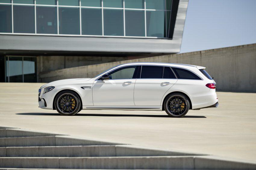 Mercedes-AMG E63 S 4Matic+ Estate, 4.0升双涡轮引擎, 612匹马力, 纽柏林跑出7分45.19秒, 夺下最速旅行车头衔! Image #48537