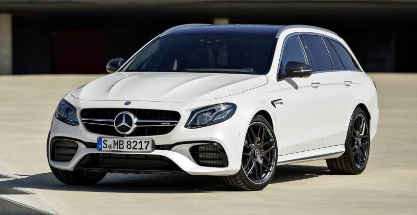 Mercedes-AMG E63 S 4Matic+ Estate, 4.0升双涡轮引擎, 612匹马力, 纽柏林跑出7分45.19秒, 夺下最速旅行车头衔! Image #48536