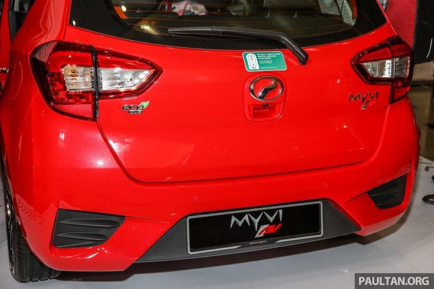 大马国民车,全新第三代 Perodua Myvi 完整规格列表! Image #49070
