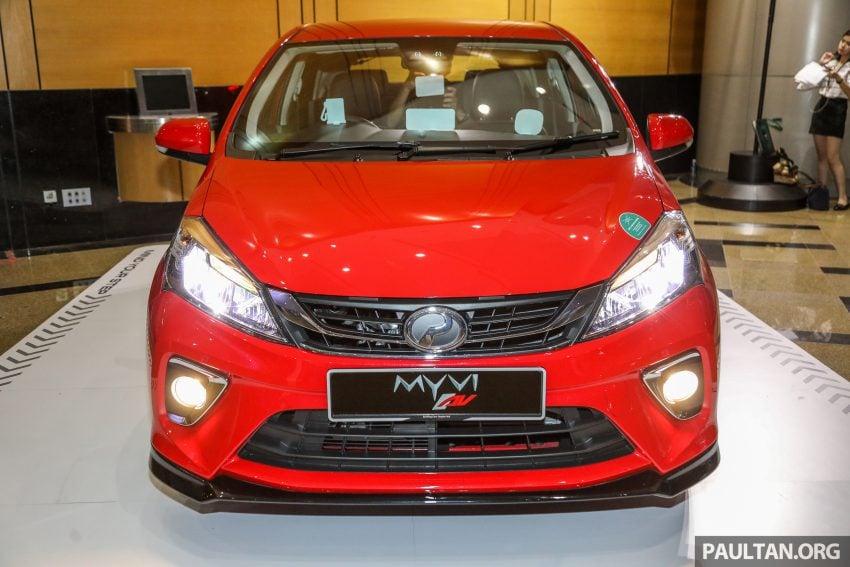 大马国民车,全新第三代 Perodua Myvi 完整规格列表! Image #49055