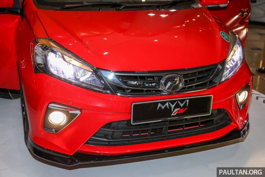 大马国民车,全新第三代 Perodua Myvi 完整规格列表! Image #49057