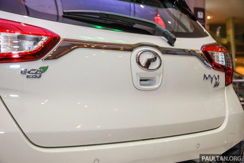 第三代 Perodua Myvi Gear Up 套件详细完整配备剖析! Image #49009
