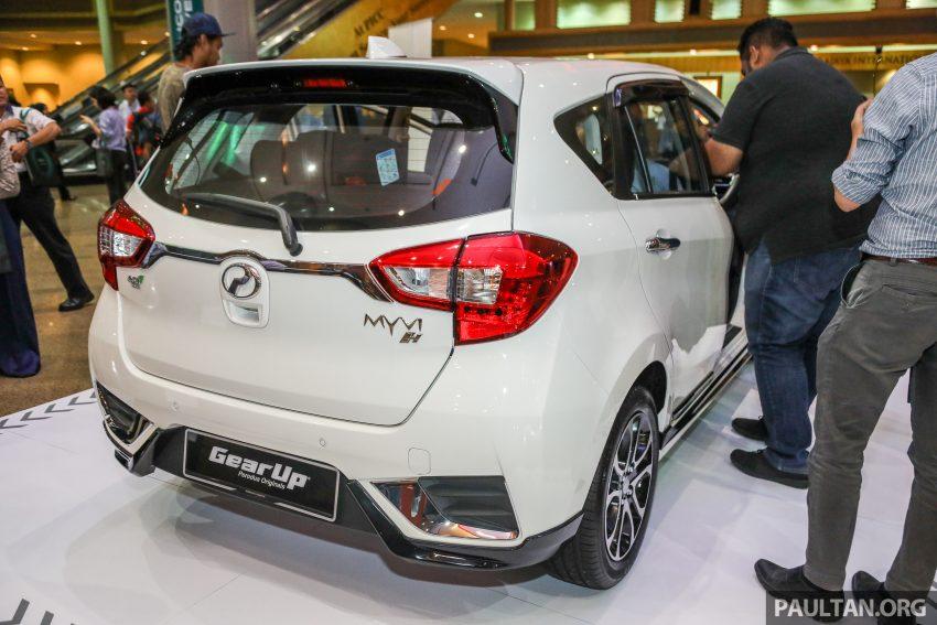 第三代 Perodua Myvi Gear Up 套件详细完整配备剖析! Image #48992