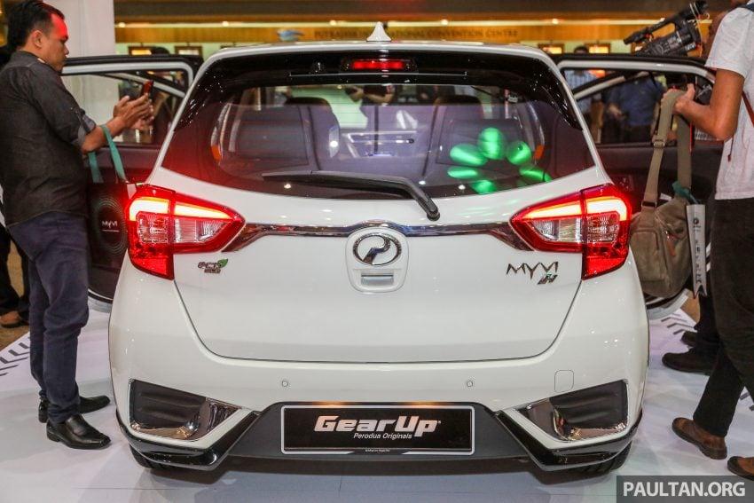 第三代 Perodua Myvi Gear Up 套件详细完整配备剖析! Image #48996