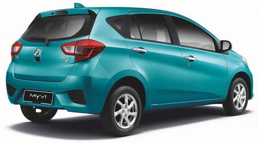 全新 Perodua Myvi 终于正式面市了,价格RM44-55K,全车系标配VSC+TRC以及LED头灯,顶配等级还有ASA! Image #48748