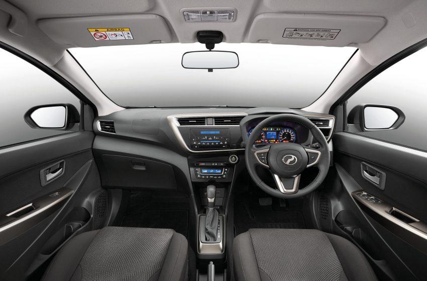全新 Perodua Myvi 终于正式面市了,价格RM44-55K,全车系标配VSC+TRC以及LED头灯,顶配等级还有ASA! Image #48749