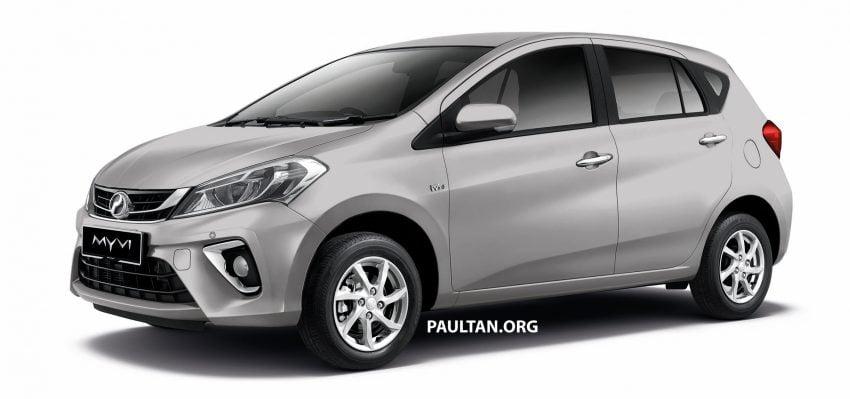 Perodua Myvi 面世12年, 一起来回顾这款国民车的进化史! Image #48872