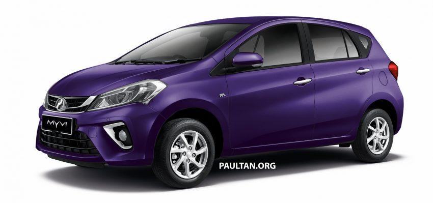 Perodua Myvi 面世12年, 一起来回顾这款国民车的进化史! Image #48876