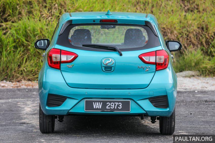 """图集:大马国民车,全新三代 Perodua Myvi 1.5 Advance 与 1.3 Premium X 实车照对比!哪一款才是您""""那杯茶""""? Image #49379"""