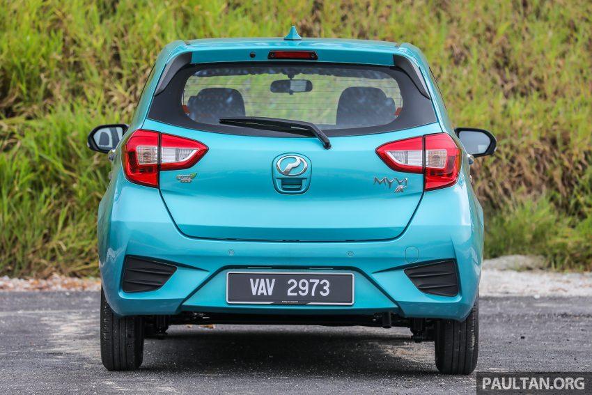 """图集:大马国民车,全新三代 Perodua Myvi 1.5 Advance 与 1.3 Premium X 实车照对比!哪一款才是您""""那杯茶""""? Image #49380"""