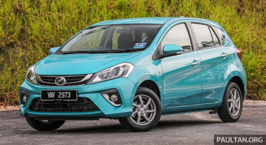 """图集:大马国民车,全新三代 Perodua Myvi 1.5 Advance 与 1.3 Premium X 实车照对比!哪一款才是您""""那杯茶""""? Image #49370"""