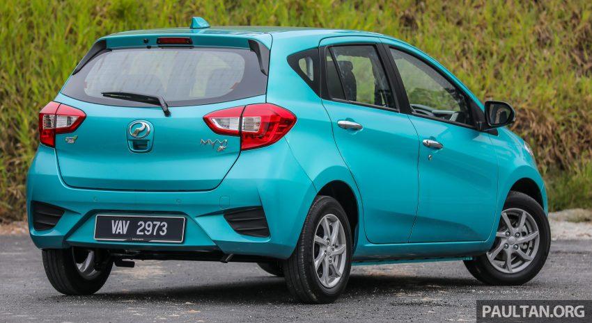 """图集:大马国民车,全新三代 Perodua Myvi 1.5 Advance 与 1.3 Premium X 实车照对比!哪一款才是您""""那杯茶""""? Image #49372"""
