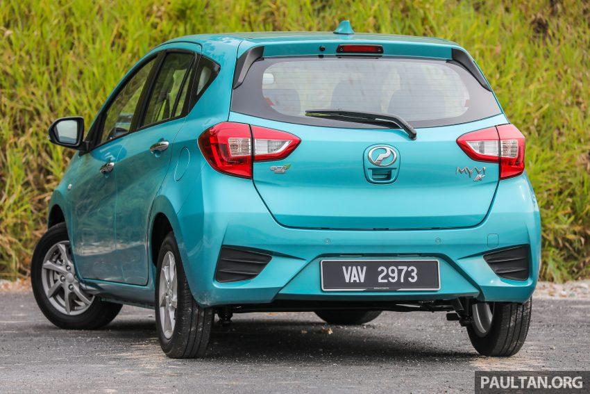 """图集:大马国民车,全新三代 Perodua Myvi 1.5 Advance 与 1.3 Premium X 实车照对比!哪一款才是您""""那杯茶""""? Image #49374"""