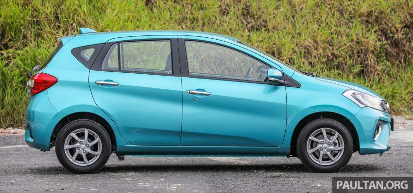"""图集:大马国民车,全新三代 Perodua Myvi 1.5 Advance 与 1.3 Premium X 实车照对比!哪一款才是您""""那杯茶""""? Image #49375"""