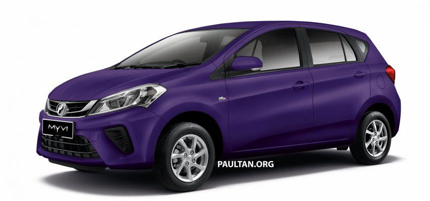 Perodua Myvi 面世12年, 一起来回顾这款国民车的进化史! Image #48884