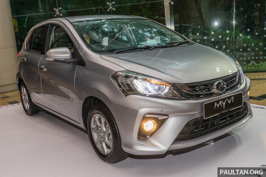 全新 Perodua Myvi 终于正式面市了,价格RM44-55K,全车系标配VSC+TRC以及LED头灯,顶配等级还有ASA! Image #49081