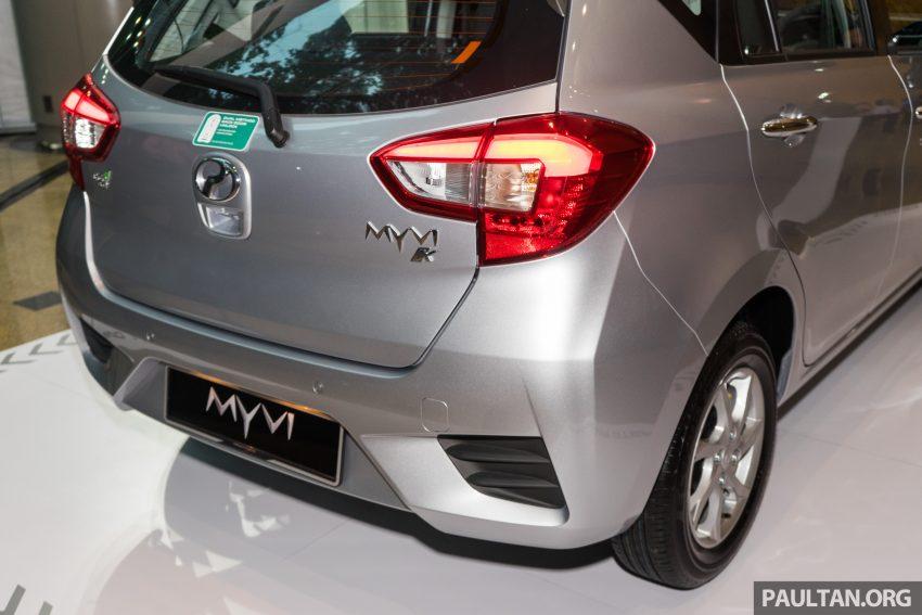 全新 Perodua Myvi 终于正式面市了,价格RM44-55K,全车系标配VSC+TRC以及LED头灯,顶配等级还有ASA! Image #49101