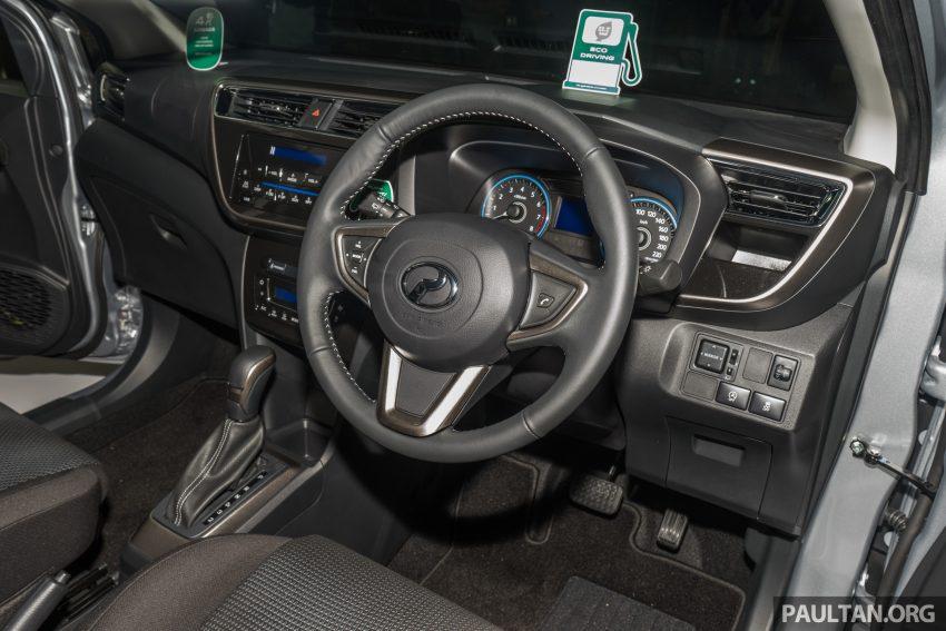 全新 Perodua Myvi 终于正式面市了,价格RM44-55K,全车系标配VSC+TRC以及LED头灯,顶配等级还有ASA! Image #49107