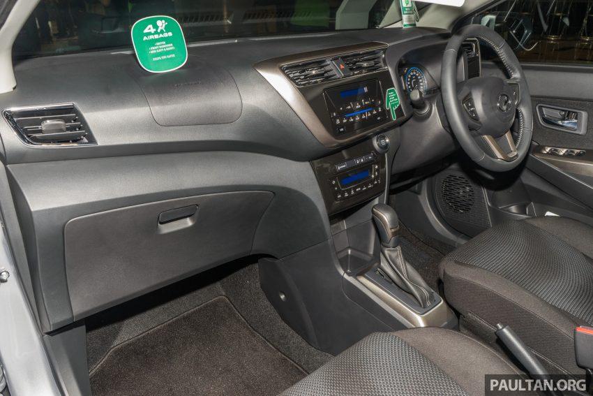 全新 Perodua Myvi 终于正式面市了,价格RM44-55K,全车系标配VSC+TRC以及LED头灯,顶配等级还有ASA! Image #49109