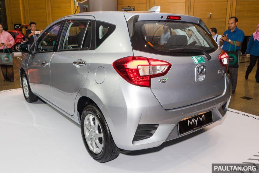 全新 Perodua Myvi 终于正式面市了,价格RM44-55K,全车系标配VSC+TRC以及LED头灯,顶配等级还有ASA! Image #49083