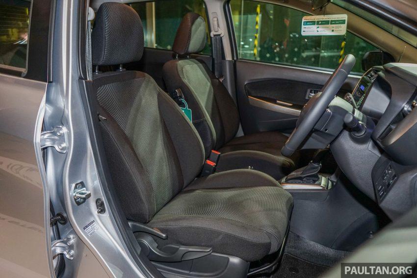 全新 Perodua Myvi 终于正式面市了,价格RM44-55K,全车系标配VSC+TRC以及LED头灯,顶配等级还有ASA! Image #49131