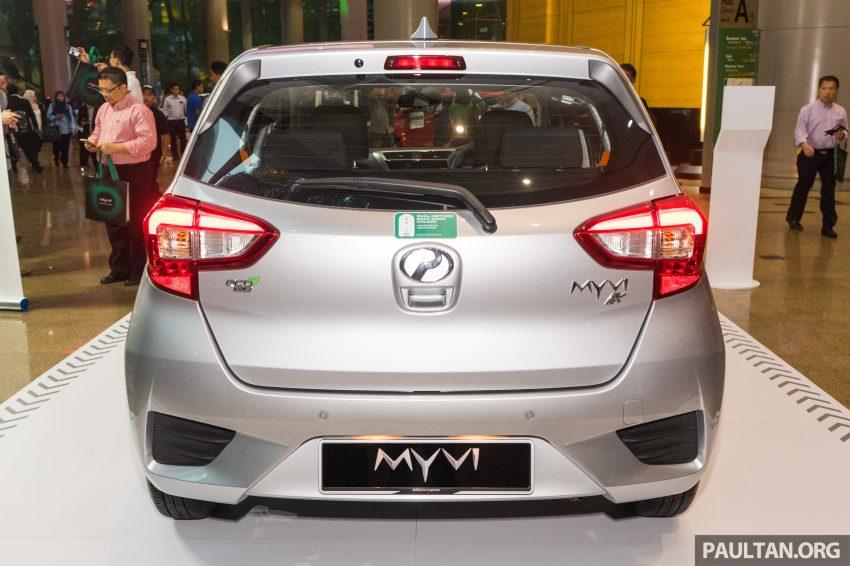 全新 Perodua Myvi 终于正式面市了,价格RM44-55K,全车系标配VSC+TRC以及LED头灯,顶配等级还有ASA! Image #49087