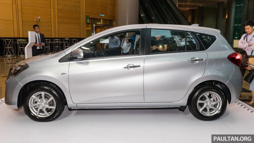 全新 Perodua Myvi 终于正式面市了,价格RM44-55K,全车系标配VSC+TRC以及LED头灯,顶配等级还有ASA! Image #49089