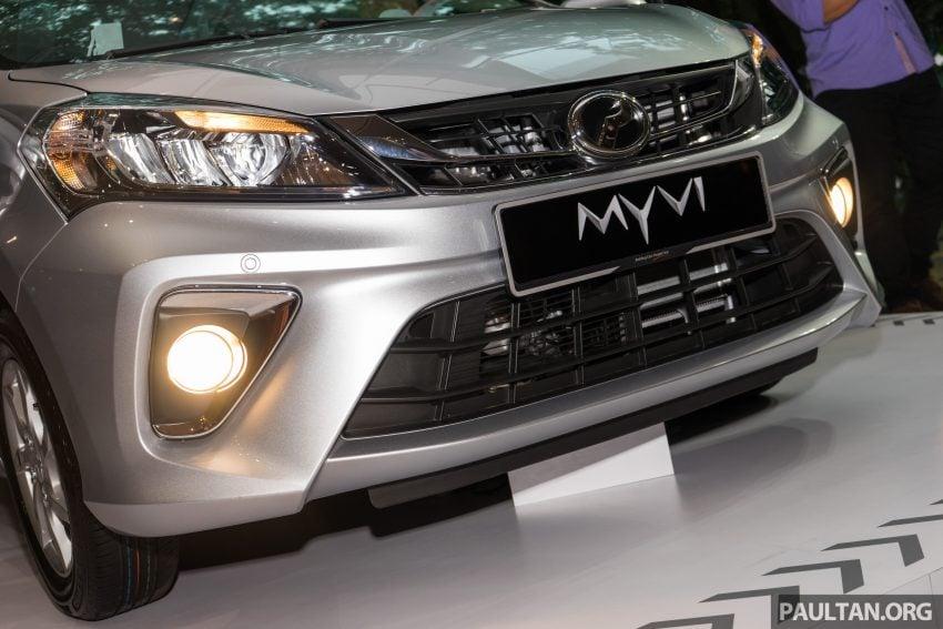 全新 Perodua Myvi 终于正式面市了,价格RM44-55K,全车系标配VSC+TRC以及LED头灯,顶配等级还有ASA! Image #49098