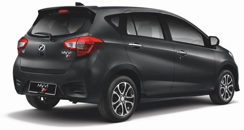 全新 Perodua Myvi 终于正式面市了,价格RM44-55K,全车系标配VSC+TRC以及LED头灯,顶配等级还有ASA! Image #48753