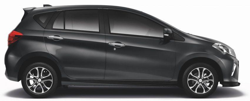 全新 Perodua Myvi 终于正式面市了,价格RM44-55K,全车系标配VSC+TRC以及LED头灯,顶配等级还有ASA! Image #48756