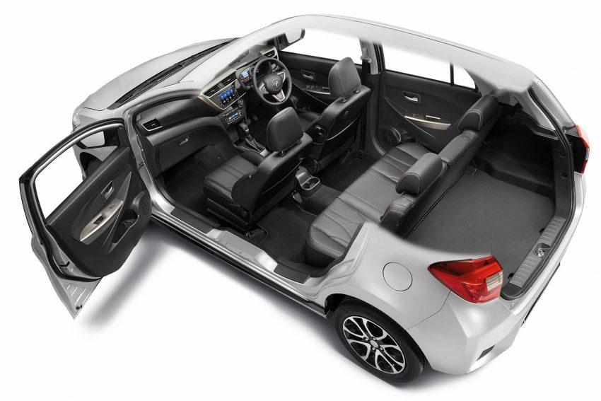 全新 Perodua Myvi 终于正式面市了,价格RM44-55K,全车系标配VSC+TRC以及LED头灯,顶配等级还有ASA! Image #48761
