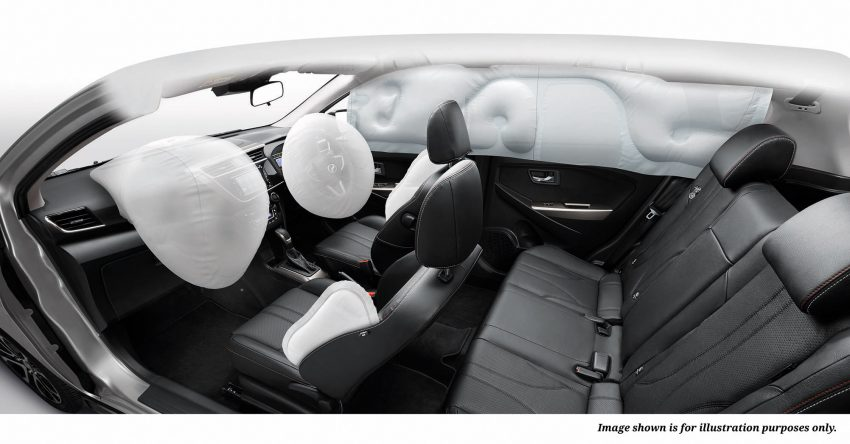 全新 Perodua Myvi 终于正式面市了,价格RM44-55K,全车系标配VSC+TRC以及LED头灯,顶配等级还有ASA! Image #48778