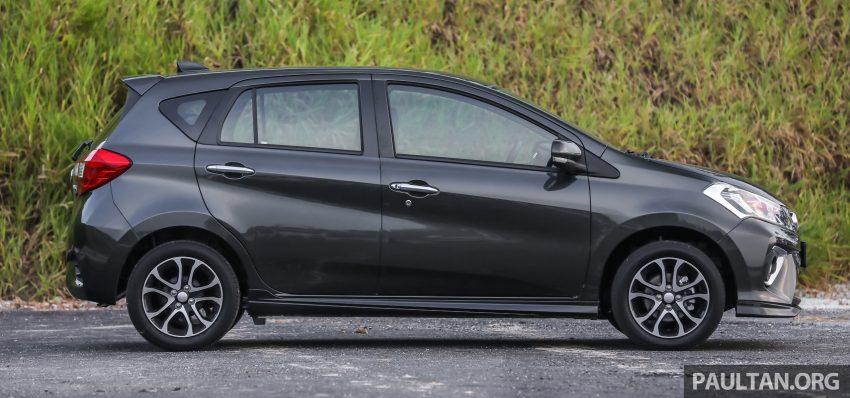 """图集:大马国民车,全新三代 Perodua Myvi 1.5 Advance 与 1.3 Premium X 实车照对比!哪一款才是您""""那杯茶""""? Image #49448"""