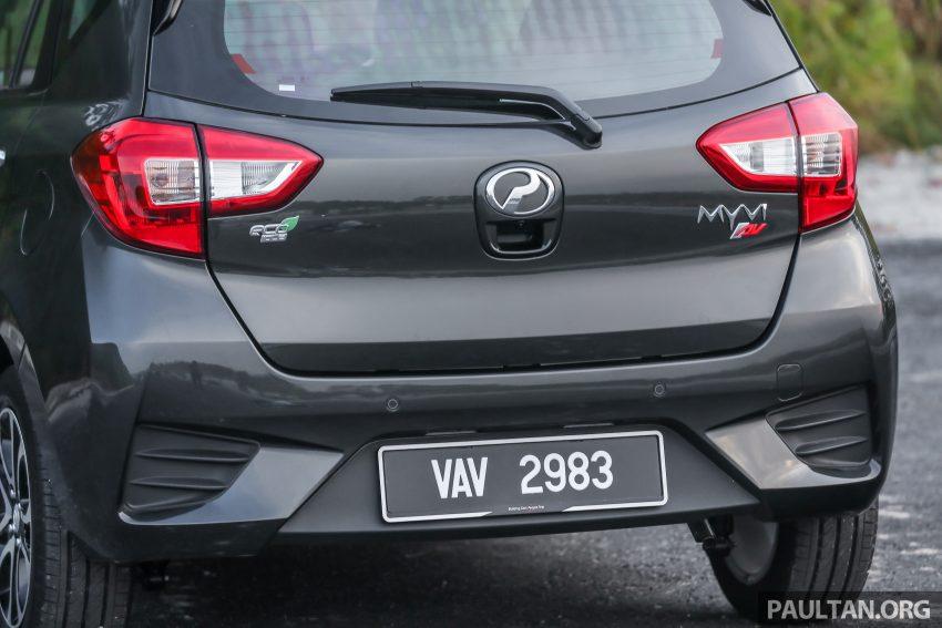 """图集:大马国民车,全新三代 Perodua Myvi 1.5 Advance 与 1.3 Premium X 实车照对比!哪一款才是您""""那杯茶""""? Image #49465"""
