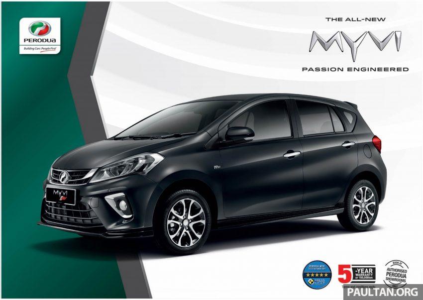 全新 Perodua Myvi 终于正式面市了,价格RM44-55K,全车系标配VSC+TRC以及LED头灯,顶配等级还有ASA! Image #48903