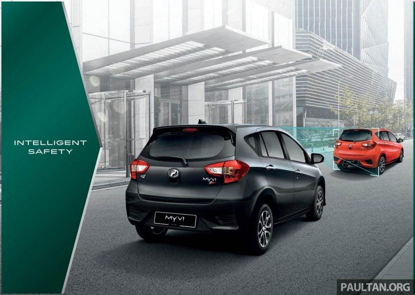 全新 Perodua Myvi 终于正式面市了,价格RM44-55K,全车系标配VSC+TRC以及LED头灯,顶配等级还有ASA! Image #48918