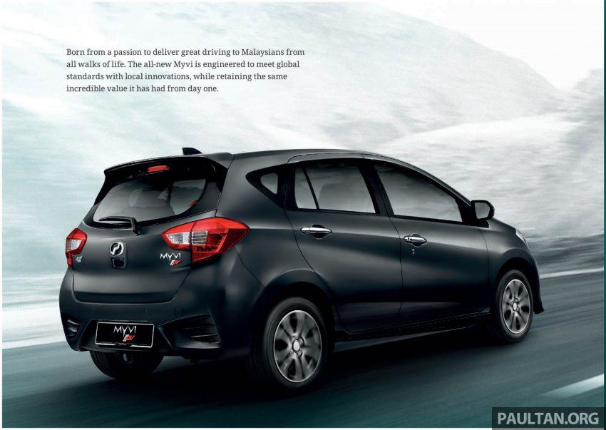 全新 Perodua Myvi 终于正式面市了,价格RM44-55K,全车系标配VSC+TRC以及LED头灯,顶配等级还有ASA! Image #48904