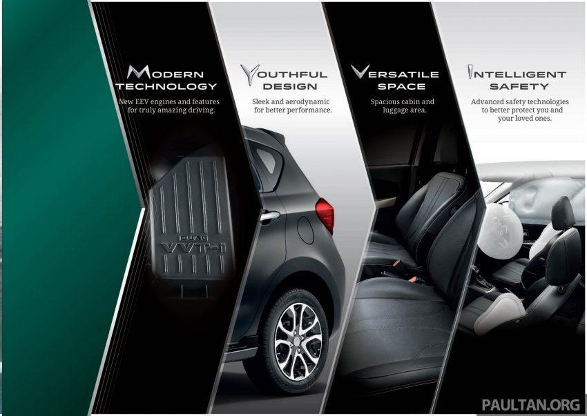 全新 Perodua Myvi 终于正式面市了,价格RM44-55K,全车系标配VSC+TRC以及LED头灯,顶配等级还有ASA! Image #48905